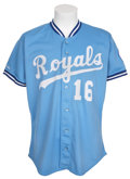 Baseball Collectibles:Uniforms, 1989 Bo Jackson Game Worn Jersey....