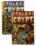 Golden Age (1938-1955):Horror, Tales From the Crypt #35 and 36 Group (EC, 1953).... (Total: 2Comic Books)