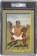 Autographs:Post Cards, Roy Campanella Signed Perez Steele Postcard PSA/DNA Encapsulated....