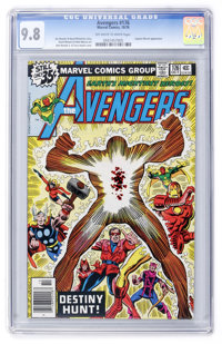 The Avengers #176 (Marvel, 1978) CGC NM/MT 9.8 Off-white to white pages