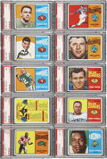 Football Cards:Sets, 1964 O-Pee-Chee CFL High Grade Complete Set (88), Gem Mint Unopened Pack, Display Box & Wrapper....
