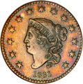 Proof Large Cents, 1831 1C PR64 Brown NGC....