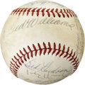 Autographs:Baseballs, 1971 Washington Senators Team Signed Baseball. ...