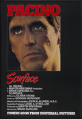 "Movie Posters:Crime, Scarface (Universal, 1983). One Sheet (27"" X 41"") Advance. Crime....."