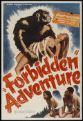 "Movie Posters:Bad Girl, Gorilla Woman (United Screen Associates, R-1950). One Sheet (27"" X41""). Bad Girl.. ..."