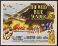 "Movie Posters:War, The Wild Blue Yonder Lot (Republic, 1951). Half Sheets (3) (22"" X28""). War.. ... (Total: 3 Items)"