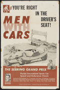 """Movie Posters:Sports, Men With Cars (Union Film, 1958). One Sheet (27"""" X 41""""). Sports.. ..."""
