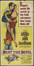 "Movie Posters:Adventure, Beat the Devil (United Artists, 1953). Three Sheet (41"" X 81"").Adventure.. ..."