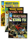 Magazines:Miscellaneous, The Deadly Hands of Kung Fu Group (Marvel, 1974-75) Condition:Average VF+.... (Total: 10 Comic Books)