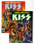 Magazines:Science-Fiction, Marvel Comics Super Special #1 and 5 Kiss Group (Marvel,1977-78).... (Total: 2 Comic Books)