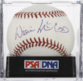 Autographs:Baseballs, Willie McCovey Single Signed Baseball PSA Mint 9. ...