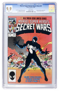Marvel Super Heroes Secret Wars #8 (Marvel, 1984) CGC MT 9.9 White pages