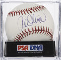 Autographs:Baseballs, Al Oliver Single Signed Baseball PSA Mint+ 9.5. ...