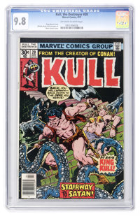 Kull the Destroyer #20 (Marvel, 1977) CGC NM/MT 9.8 Off-white to white pages