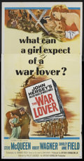 "Movie Posters:War, The War Lover (Columbia, 1962). Three Sheet (41"" X 81""). War.. ..."
