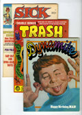 Memorabilia:MAD, Alfred E. Neuman Non-Mad Magazine Group (various publishers,1970s-80s).... (Total: 10 Items)