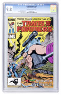 Modern Age (1980-Present):Science Fiction, Transformers #13 (Marvel, 1986) CGC NM/MT 9.8 Off-white to whitepages....