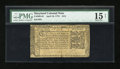 Colonial Notes:Maryland, Maryland April 10, 1774 $1/6 PMG Net Choice Fine 15....