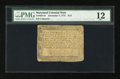 Colonial Notes:Maryland, Maryland December 7, 1775 $1/3 PMG Fine 12....