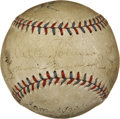 Autographs:Baseballs, 1929 Walter Johnson and Other Signed Baseball. ...