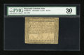 Colonial Notes:Maryland, Maryland December 7, 1775 $2 2/3 PMG Very Fine 30....