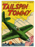 Golden Age (1938-1955):War, Tailspin Tommy #1 Carson City pedigree (Service Publications, 1946)Condition: VF-....