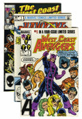 Modern Age (1980-Present):Superhero, The Avengers Related Long Box Group (Marvel, 1984-98) Condition:Average NM-....