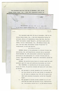 Mad Contract, Group of 7 (EC, circa 1970).... (Total: 7 Items)