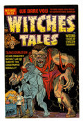 Golden Age (1938-1955):Horror, Witches Tales #14 (Harvey, 1952) Condition: VF....