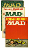 Magazines:Mad, Mad #67-80 Group Magazines (EC, 1961-63) Condition: Average VG....(Total: 14 Items)