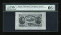 Fractional Currency:Third Issue, Fr. 1272SP 15c Third Issue Wide Margin Face PMG Gem Uncirculated 66 EPQ....