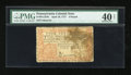 Colonial Notes:Pennsylvania, Pennsylvania April 10, 1777 L4 Red and Black PMG Extremely Fine 40Net....