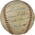 Autographs:Baseballs, l959 Chicago Cubs Team Signed Baseball with Rogers Hornsby. ...