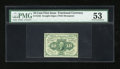 Fractional Currency:First Issue, Fr. 1242 10c First Issue PMG About Uncirculated 53....