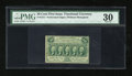 Fractional Currency:First Issue, Fr. 1311 50c First Issue PMG Very Fine 30....