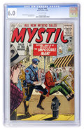 Golden Age (1938-1955):Science Fiction, Mystic #40 (Atlas, 1955) CGC FN 6.0 Off-white pages....
