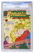 Silver Age (1956-1969):Romance, My Romantic Adventures #72 (ACG, 1956) CGC VF 8.0 Cream tooff-white pages....
