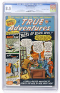 "Golden Age (1938-1955):Non-Fiction, True Adventures #3 Davis Crippen (""D"" Copy) pedigree (Marvel, 1950)CGC VF+ 8.5 Cream to off-white pages...."