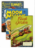Golden Age (1938-1955):Miscellaneous, Four Color and Others Group (Dell, 1945-61) Condition: Average VG.... (Total: 24 Comic Books)