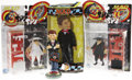 Memorabilia:MAD, Mad Alfred E. Neuman/Spy vs Spy Toy Group (1998-99).... (Total: 4Items)