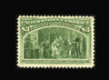 Stamps, #243a, 1893, $3 Olive Green, VG-F 60 PSE. (Original Gum - Previously Hinged)....