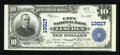National Bank Notes:Nebraska, Lincoln, NE - $10 1902 Plain Back Fr. 635 City NB Ch. # 13017. ...