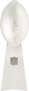 Football Collectibles:Others, 1995 Super Bowl XXX Lombardi Trophy Salesman's Sample....