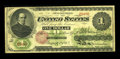 Large Size:Legal Tender Notes, Fr. 17a $1 1862 Legal Tender Fine-Very Fine....