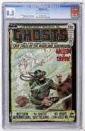 Bronze Age (1970-1979):Horror, Ghosts #2 (DC, 1971) CGC VF+ 8.5 Off-white to white pages....