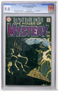 Silver Age (1956-1969):Horror, House of Mystery #179 (DC, 1969) CGC VF/NM 9.0 Off-white pages....