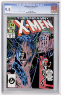 Modern Age (1980-Present):Superhero, X-Men #220 (Marvel, 1987) CGC NM/MT 9.8 White pages....