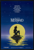 "Movie Posters:Animated, The Little Mermaid (Buena Vista, 1989). One Sheet (27"" X 41"") DSAdvance. Animated. Starring Jodi Benson, Pat Carroll , Rene..."