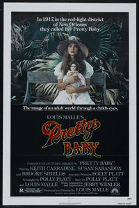 "Pretty Baby (Paramount, 1978). One Sheet (27"" X 41""). Drama. Starring Brooke Shields, Keith Carradine, Susan S..."
