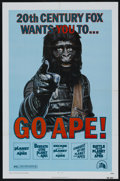 "Movie Posters:Science Fiction, Go Ape! (20th Century Fox, 1974). Planet of the Apes Film FestivalOne Sheet (27"" X 41""). Science Fiction. ..."